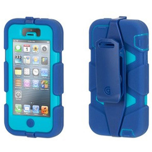 Griffin iPhone 5/5s, iPhone SE Rugged Case, Survivor All-Terrain Case with Belt Clip, Military-Duty Case w/ Belt Clip for iPhone 5s