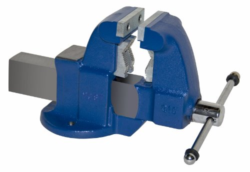"Yost Vises 131C 3.5"" Combination Pipe and Bench Vise with Stationary Base, Made in US by Yost Vises"