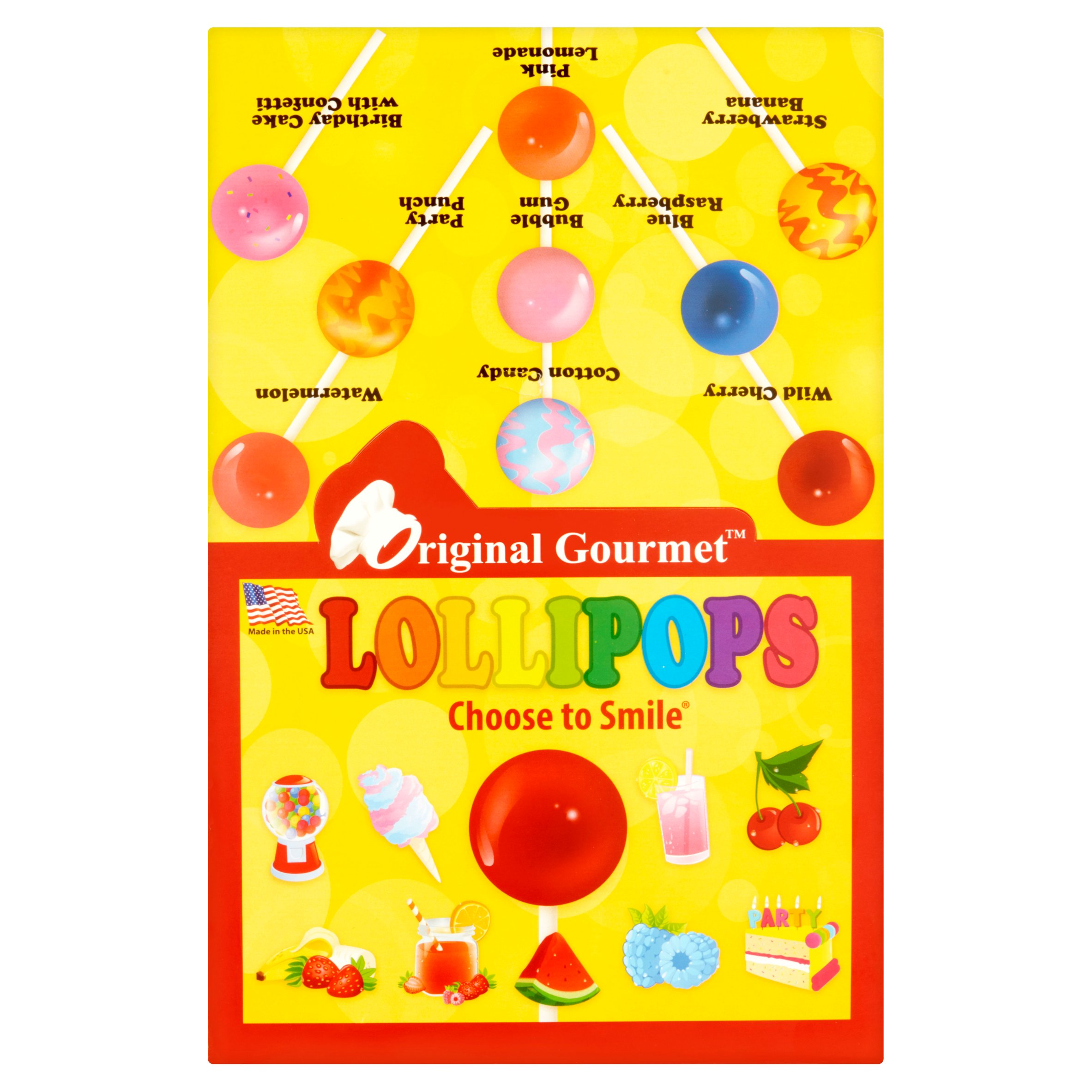 Original Gourmet Original Lollipops, 1.1 oz, 48 count