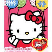 Hello Kitty 50 Piece Floor Puzzle,  Puzzles by Cardinal
