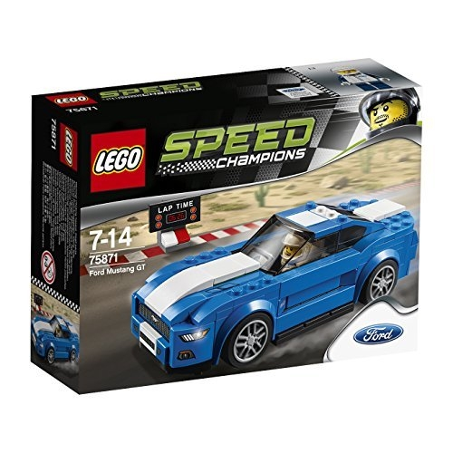 Lego Speed ??Champion Ford Mustang GT 75871