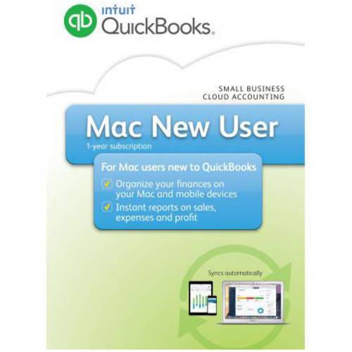 Intuit QuickBooks 2016 Mac New User (Digital Code)