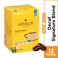Gevalia Signature Blend Decaf K Cup Coffee Pods, Decaffeinated, 12 ct - 4.12 oz Box