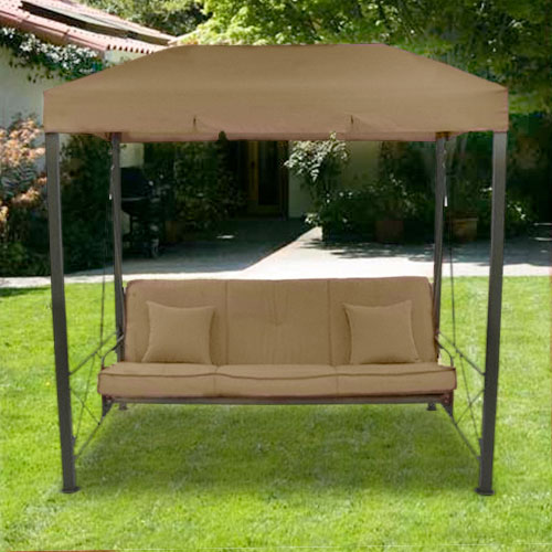 patio swing with canopy Garden Winds Replacement Canopy Top for Target's Outdoor Patio  patio swing with canopy