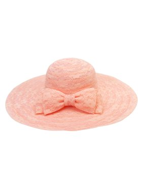 Chic Headwear Floppy Hat w/ Back Bow