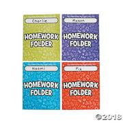 Homework Pocket Folders
