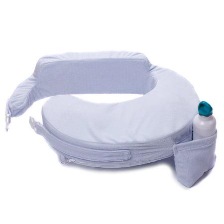 My Brest Friend Deluxe Nursing Pillow Slipcover (pillow not included), Blue Brest Friend Deluxe Slipcover