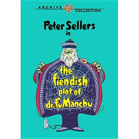 The Fiendish Plot Of Dr. Fu Manchu (DVD) (Fake Fu Manchu Mustache)