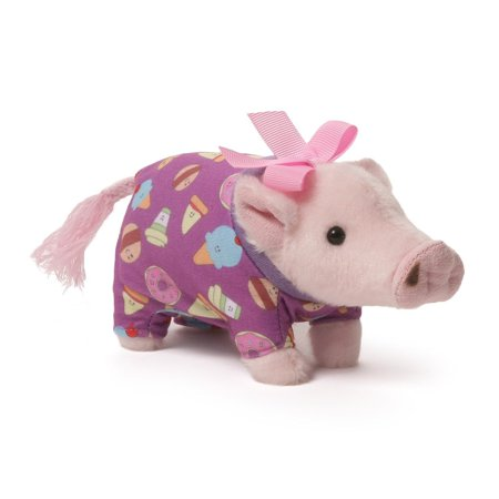 Prissy Pig Pajamas 6 inch - Stuffed Animal by GUND (4056222)