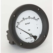 MIDWEST INSTRUMENT 142-SC-00-OO-100H Pressure Gauge, 0 to 100 In H2O