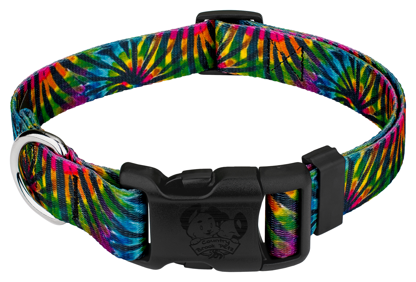 Country Brook Design® 2 Inch Tie Dye Stripes Polyester Webbing 10 Yards