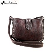 MW175-8287 Montana West Tooling Collection Messenger Handbag