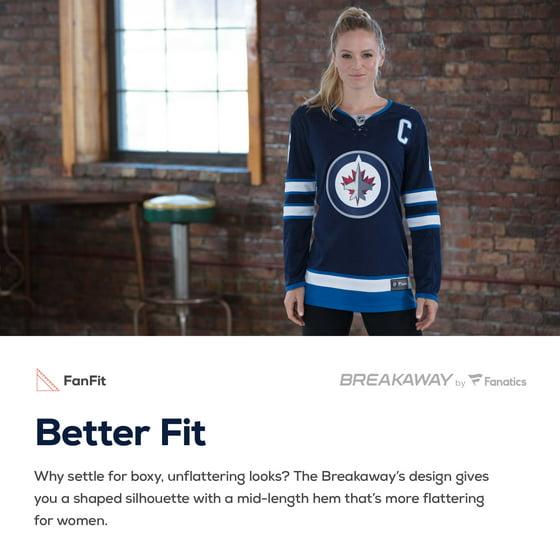 3d8d62dfb Steve Mason Winnipeg Jets Fanatics Branded Women's Breakaway Player Jersey  - Navy - Walmart.com