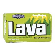 Lava Heavy Duty Hand Cleaner - WD-40 10383 Lava Heavy Duty Hand Cleaner with Moisturizer 4 oz Bar Soap