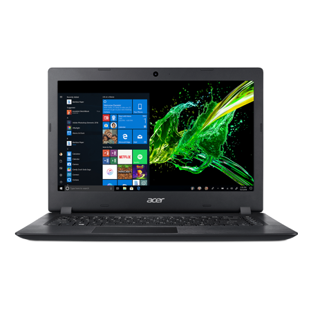 "Acer Aspire 3, 14"" HD, AMD A9-9420e, 4GB DDR4, 128GB SSD, Windows 10 Home, A314-21-91V1"