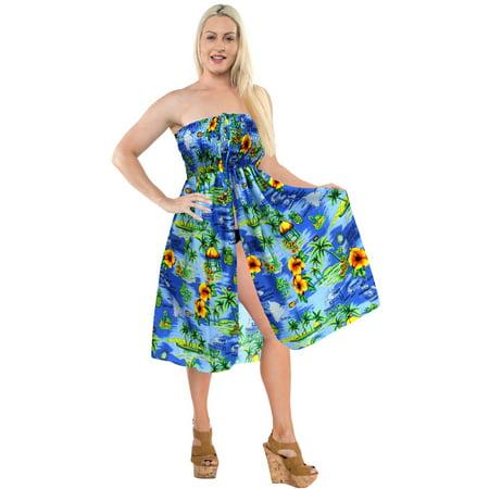 7507ef414ea8c Short Dress Beachwear Halter Neck Tube Maxi Cover up Swimwear Swimsuit Top  Skirt - Walmart.com