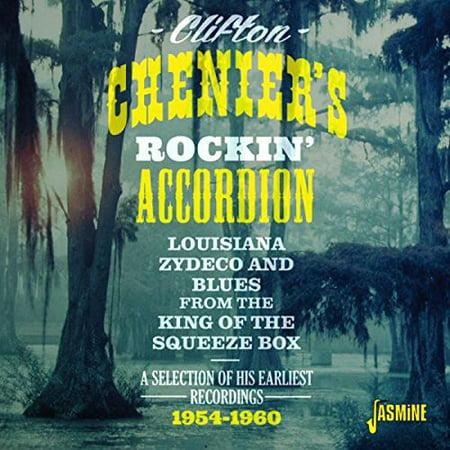 Clifton Chenier   Clifton Cheniers Rockin Accordion  Cd