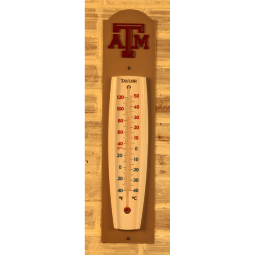 Henson Metal Works NCAA Outdoor Thermometer by