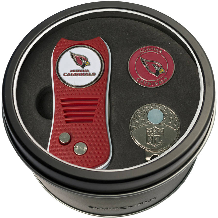 Team Golf NFL Tin Gift Set with Switchfix Divot Tool, Cap Clip and Ball Marker