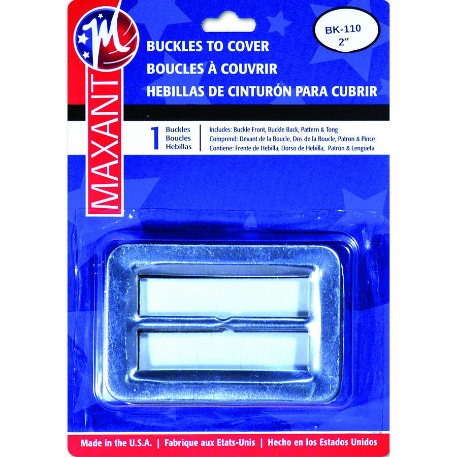"Buckle Cover Kit, 2"" Rectangle"