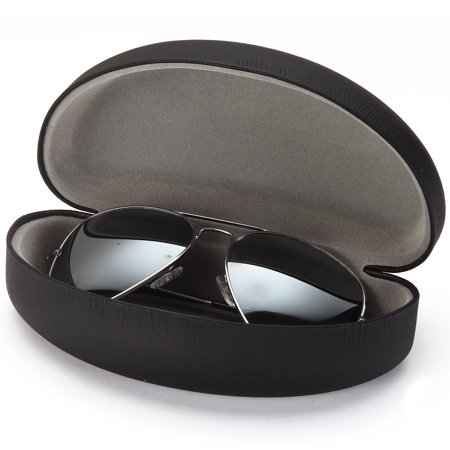 20a160a4825 ALTEC VISION Extra Large Protective Hard Carrying Case for Oversized  Sunglasses Eyeglasses and Reading Glasses with Microfiber Cleaning Cloth -  Black   Gray