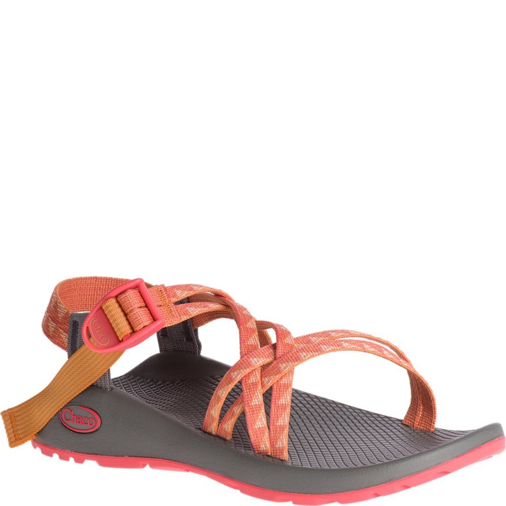 Chaco J106558: Women's ZX1 Classic Sport Dart Peach Sandal by Chaco
