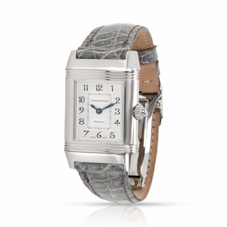 Certified Jaeger Lecoultre Reverso Manual Steel Womens Watch (Jaeger Lecoultre Ladies)