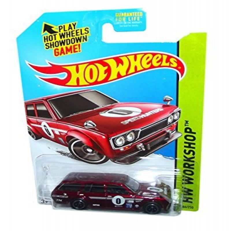 2014 Hot Wheels 206/250 Hw Workshop - '71 Datsun 510 Blue...