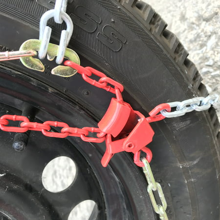 Snow Chains P165/80R15 P165/80 15 TUV Diamond Tire Chains set of 2 - image 1 of 5