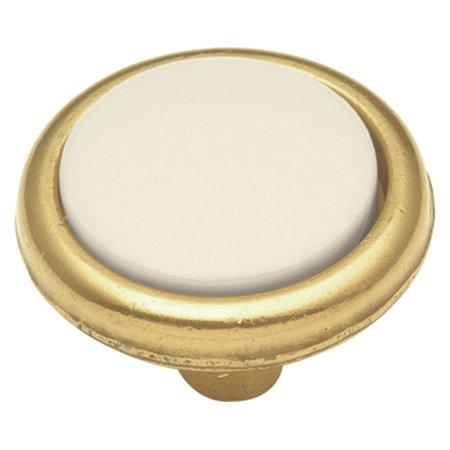 Hickory Hardware Tranquility Light Almond Cabinet Knob