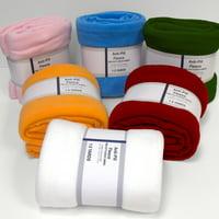 David Textiles Anti-Pill Fleece Solids 1.5-Yard Fabric Cut