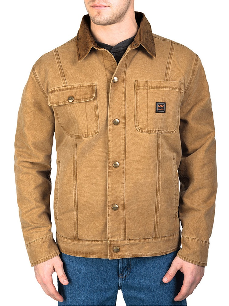 Men's Ranch Amarillo Duck Cotton Twill Jacket Washed Pecan XL
