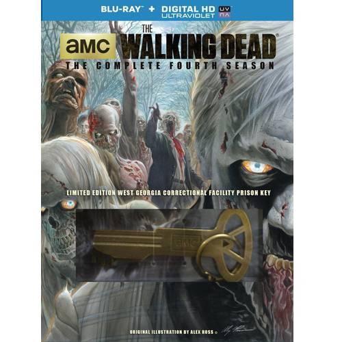 The Walking Dead: The Complete Fourth Season (Blu-ray + Prison Key) (Walmart Exclusive) (Widescreen)