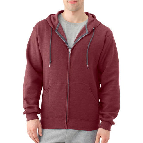 Men's Dual Defense Fleece Full Zip Hooded Sweatshirt by Generic
