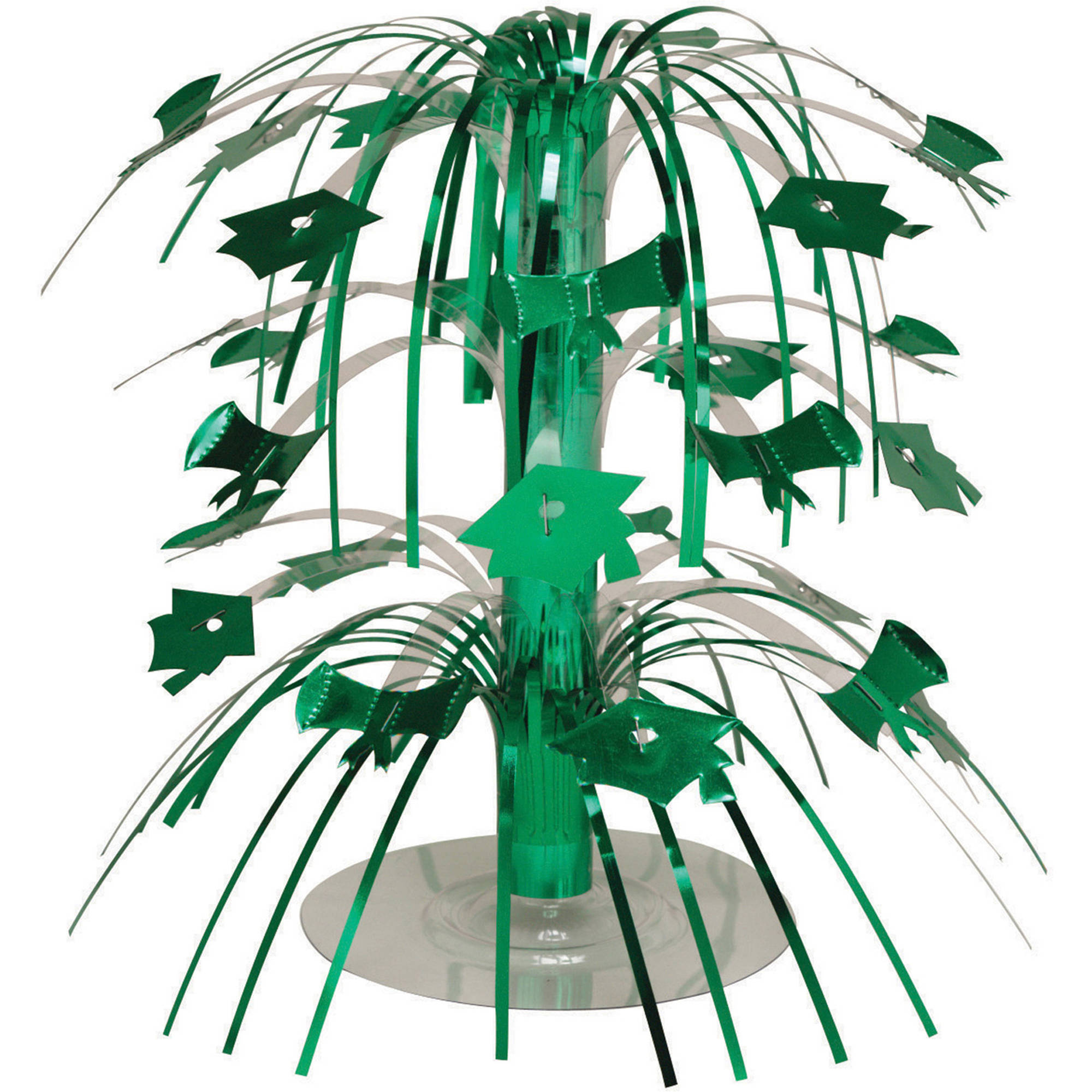 Emerald Green Graduation Mini Cascade Centerpiece