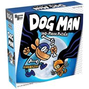 Dog Man and Cat Kid 100 Piece Lenticular Jigsaw Puzzle