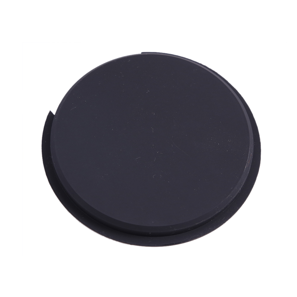 Guitar Soundhole Cover Acoustic Guitar Sound Hole Cover Screeching Halt Feedback Buster Prevention Silicone Material Black-102mm
