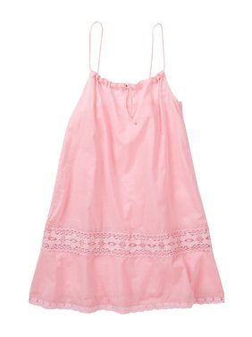 Azul Girls Pink Adjustable Drawstring Camisole Tunic Cover Up