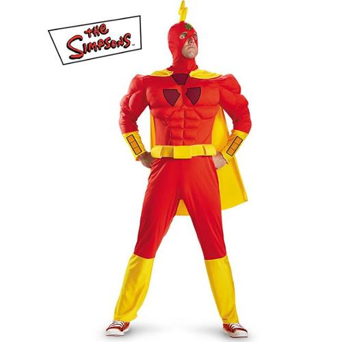 Disguise DI55298-XXL Mens The Simpsons Radioactive Man Classic Muscle Costume Size X-Large