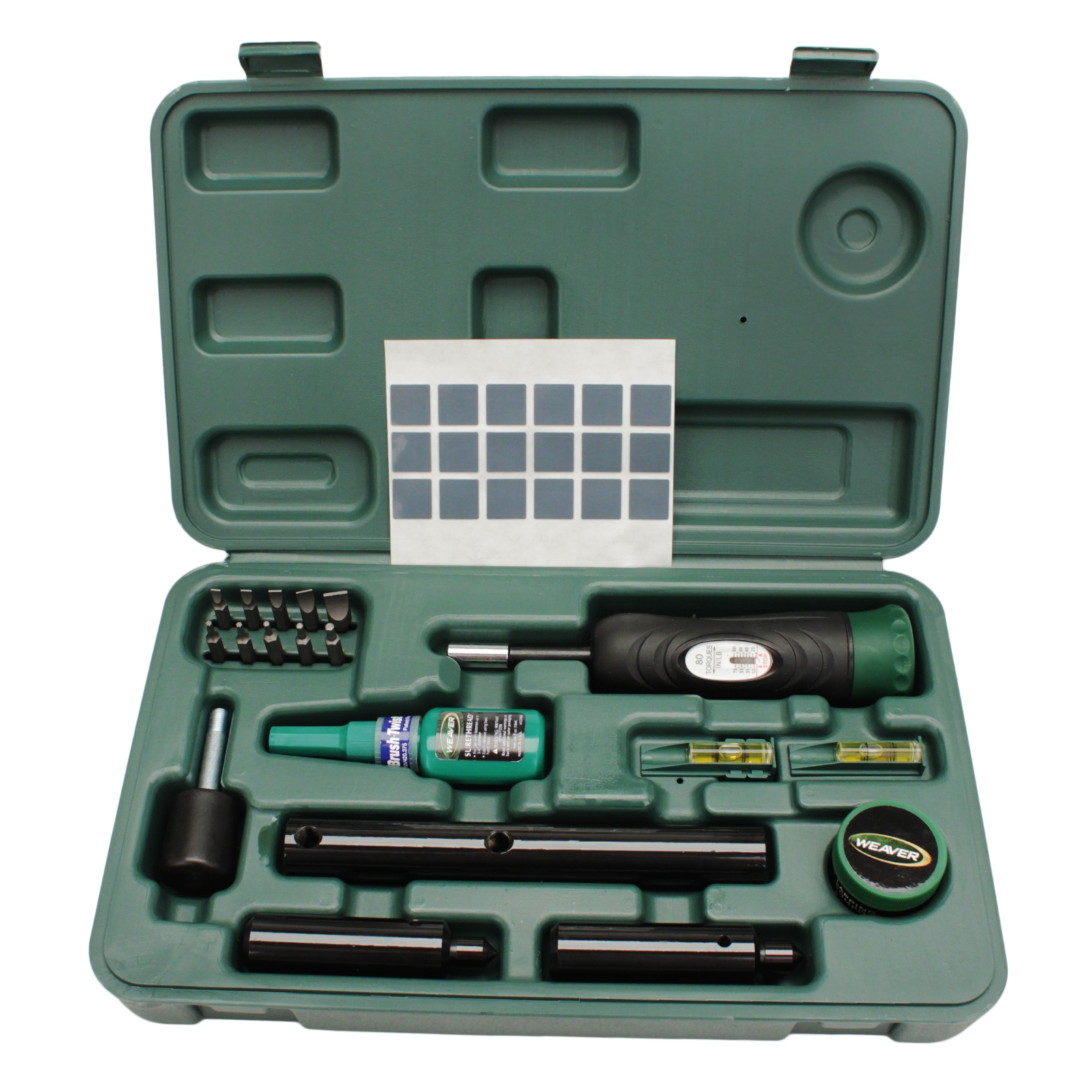 Weaver Deluxe 849721 Scope Mounting Kit Contains Precision Tools