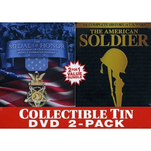 Soldiers Of Honor: The Medal Of Honor / The American Soldier (Collectible Tin 2-Pack)