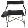 Ozark Trail Director's Chair with Side Table, Black