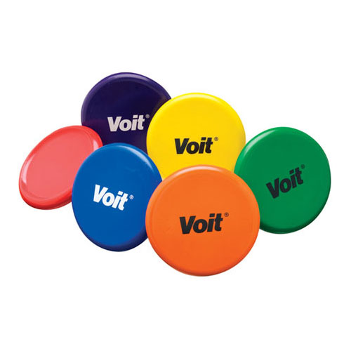Voit Tuff Coated Foam Flying Discs - Multicolor Set of 6
