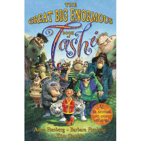 The Great Big Enormous Book Of Tashi