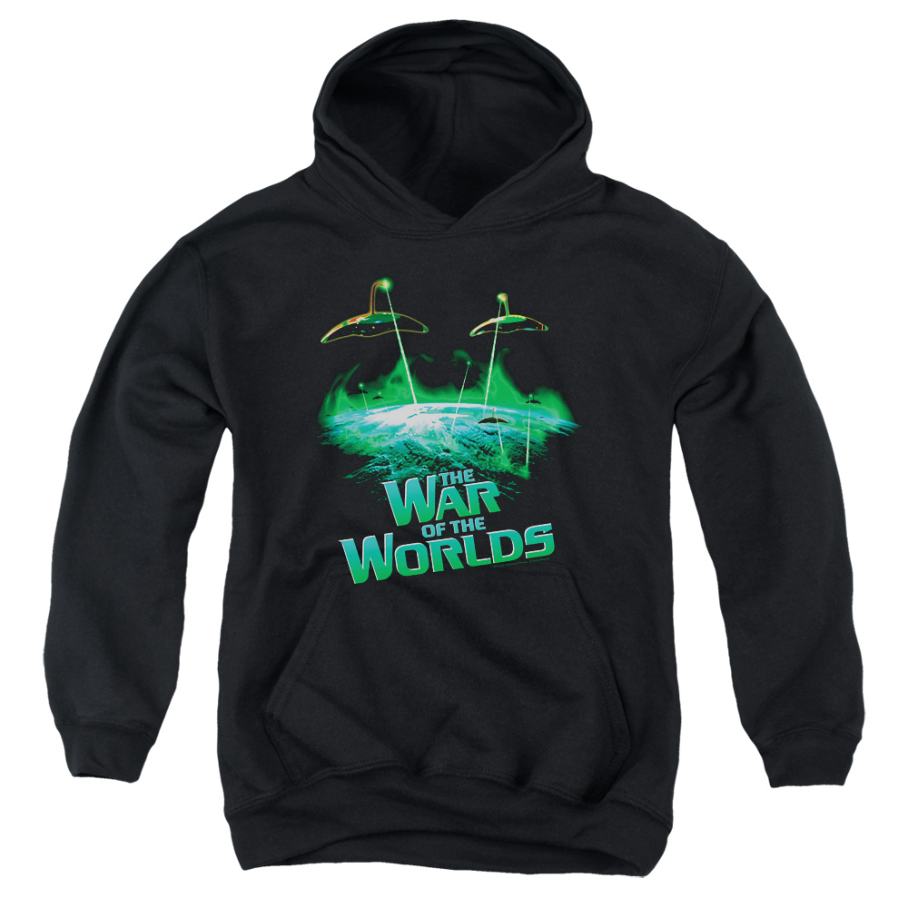 The War of the Worlds Global Attack Big Boys Pullover Hoodie