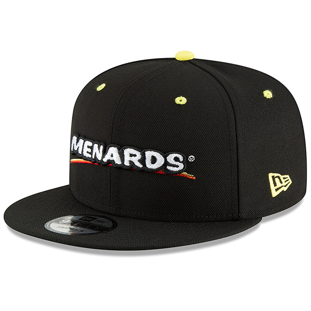 Ryan Blaney New Era Menards Diamond Era Sponsor 9FIFTY Snapback Adjustable Hat - Black - OSFA