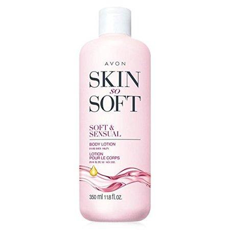Avon Skin so Soft SSS Soft & Sensual Ultra Moisturiing Body Lotion Argan Oil (Avon Skin So Soft Soft And Sensual)