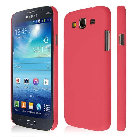 Hot Pink Roses - Samsung Galaxy Mega 5.8 Case, EMPIRE KLIX Slim-Fit Hard Case for Samsung Galaxy Mega 5.8 I9152 / I9150 - Soft Touch Rose Hot Pink (1 Year Manufacturer Warranty)