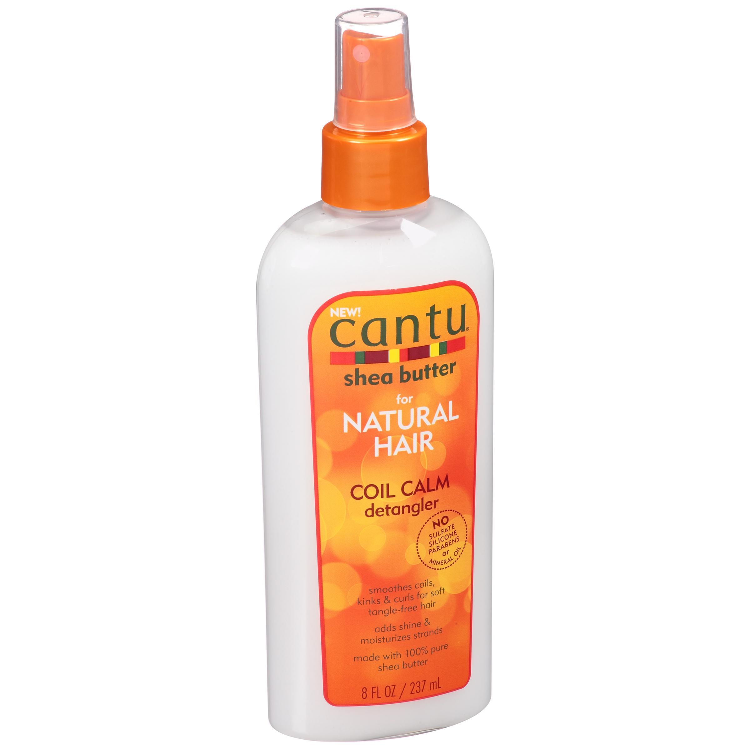 Cantu Shea Butter for Natural Hair Coil Calm Detangler 8 fl. oz. Bottle