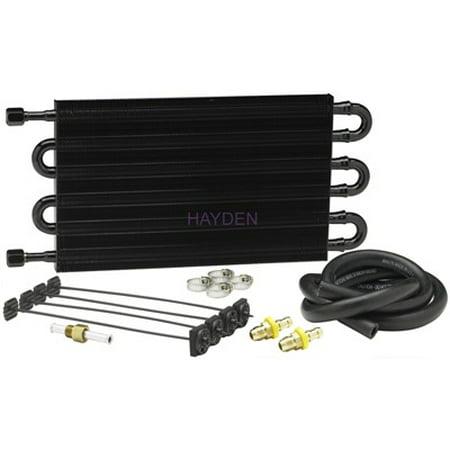 Hayden Automotive 514 High Performance Transmission Oil Cooler - Hayden Transmission Cooler